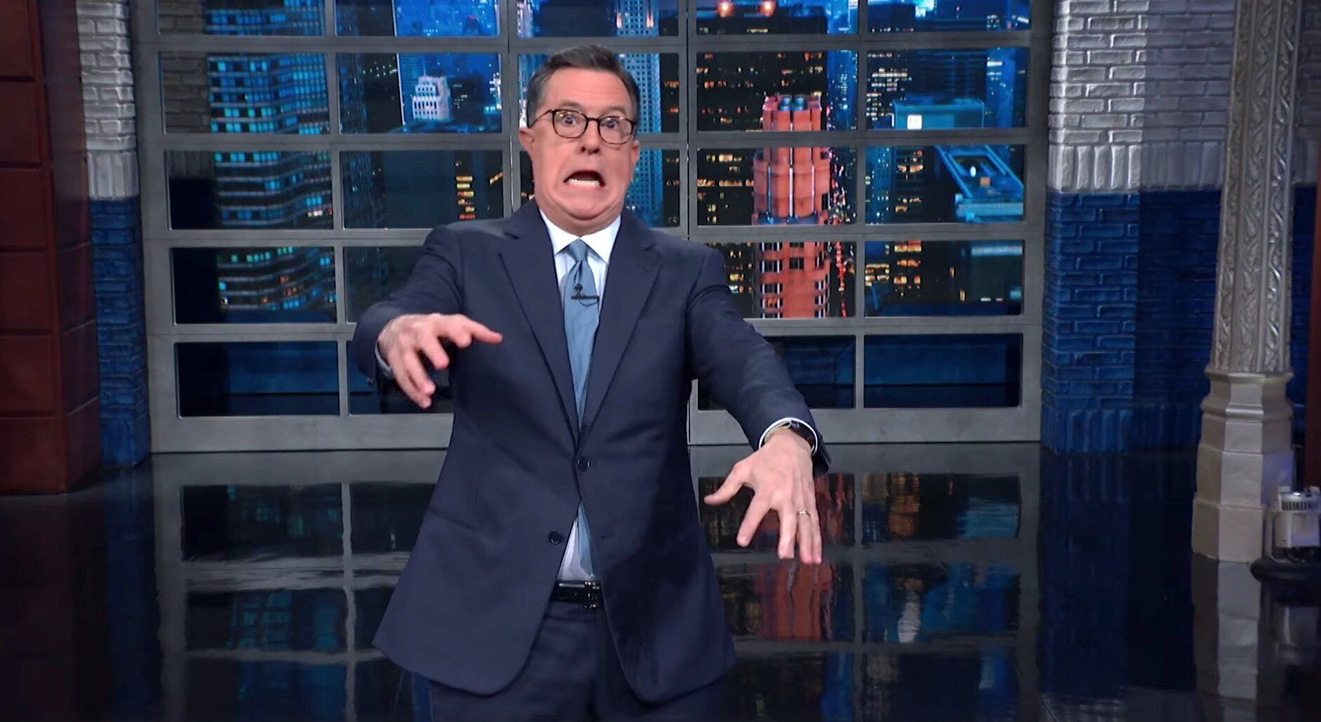 Colbert Finds A Truly Horrifying Comparison For Trump's GOP Defenders