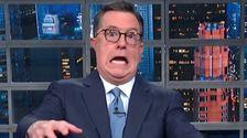 Colbert Findet Eine Wahrhaft Furchterregende Vergleich Für Trump das GOP-Verteidiger