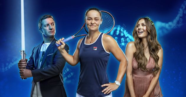 Rove McManus, Ash Barty and Ricki-Lee Coulter are fronting the Disney+DNA