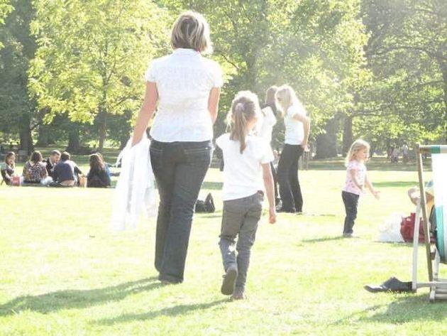 イギリスの公園で見た風景がとても記憶に残っているという