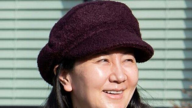 La directora financiera de Huawei, Meng