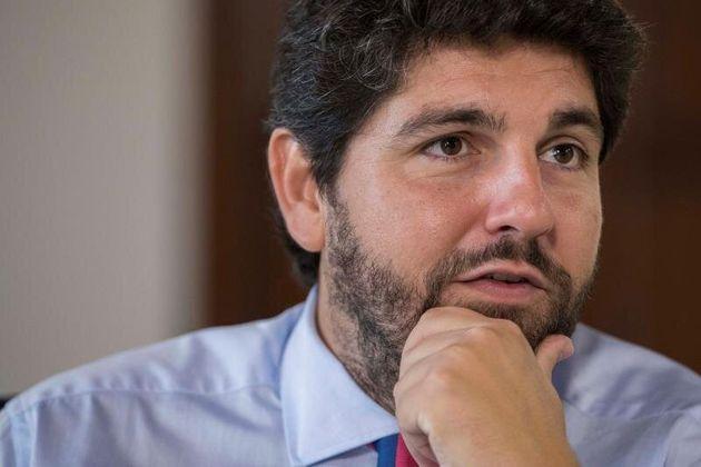 El presidente de Murcia, Fernando López Miras, en una imagen de