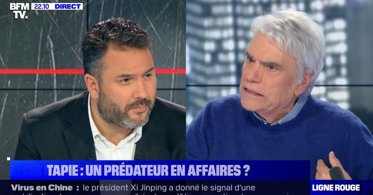 Bernard Tapie n'a vraiment pas apprécié ce reportage de BFMTV sur sa vie