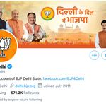 Twitter Calls Out Delhi BJP Handle Communal Tweet Against