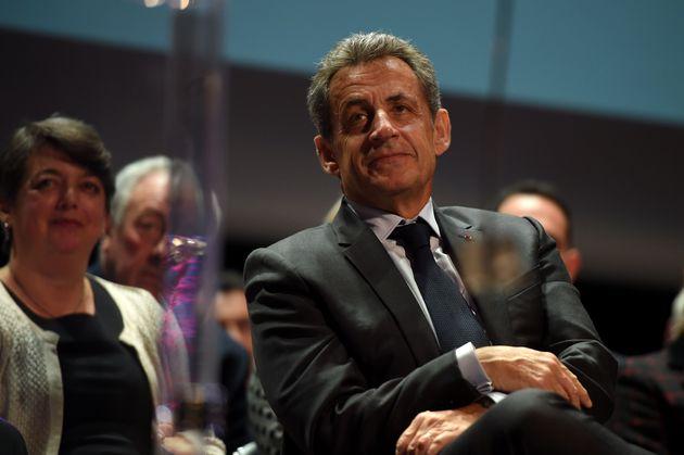 Nicolas Sarkozy àRomorantin pour les veux de Guillaume Peltier lundi 20