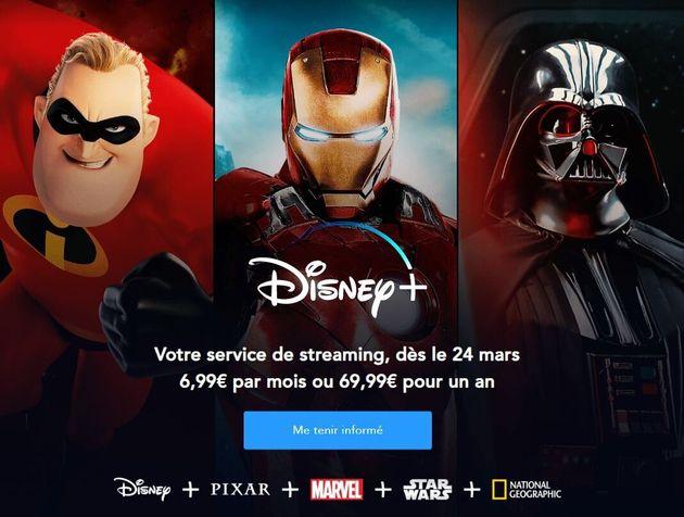 Disney+ avance d'une semaine son lancement en