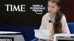Thunberg denuncia la inacción climática en Davos antes de la llegada de