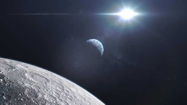 L'ESA espère à l'avenir pouvoir produire directement de l'oxygène sur la Lune. (Image