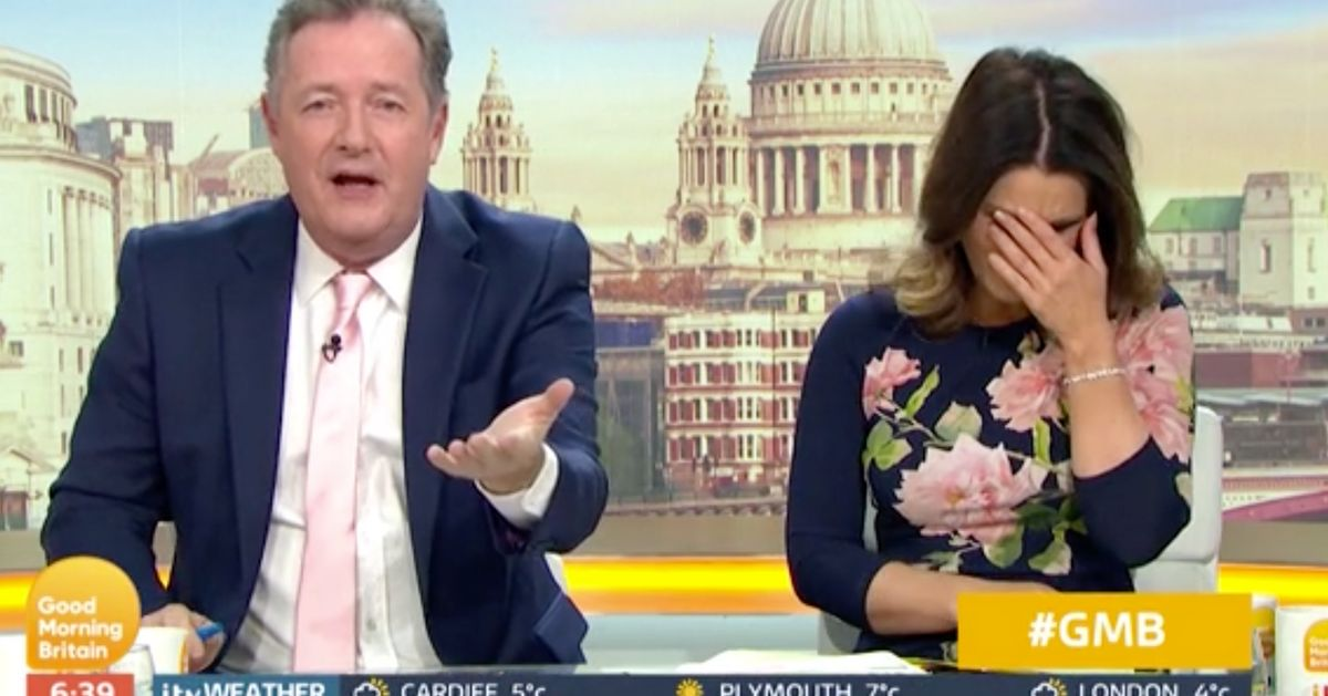 ITV Receives Warning From Ofcom After More Than 1,600 Complaints Over Piers Morgan Incident