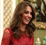 Kate Middleton Dazzles In Sequined Red Gown Amid Royal