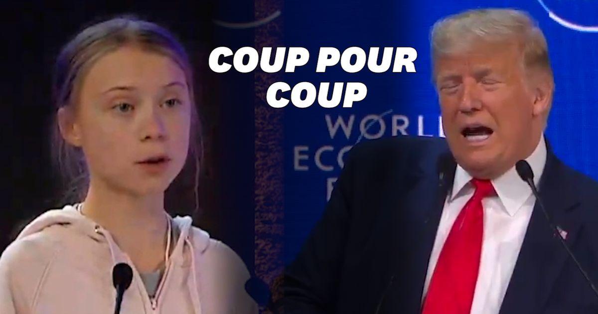 À Davos, Greta Thunberg répond à Donald Trump sans le nommer en 5 points