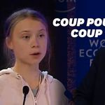 À Davos, Greta Thunberg répond à Donald Trump sans le nommer en 5