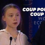 À Davos, Greta Thunberg répond à Donald Trump sans le nommer en 5