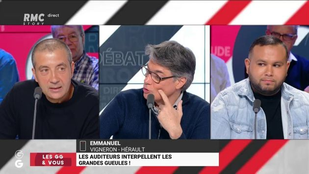 Alain Marschall, au centre, un des présentateurs des
