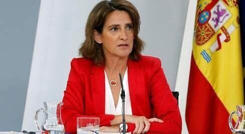 La Vicepresidenta cuarta y ministra para la Transición Ecológica y Reto Demográfico, Teresa