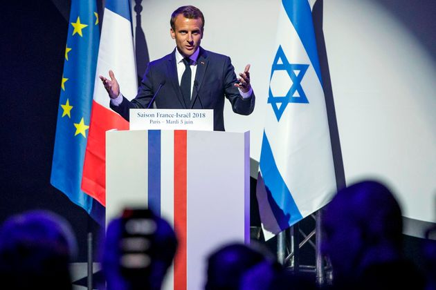 Emmanuel Macron lors de l'Exposition