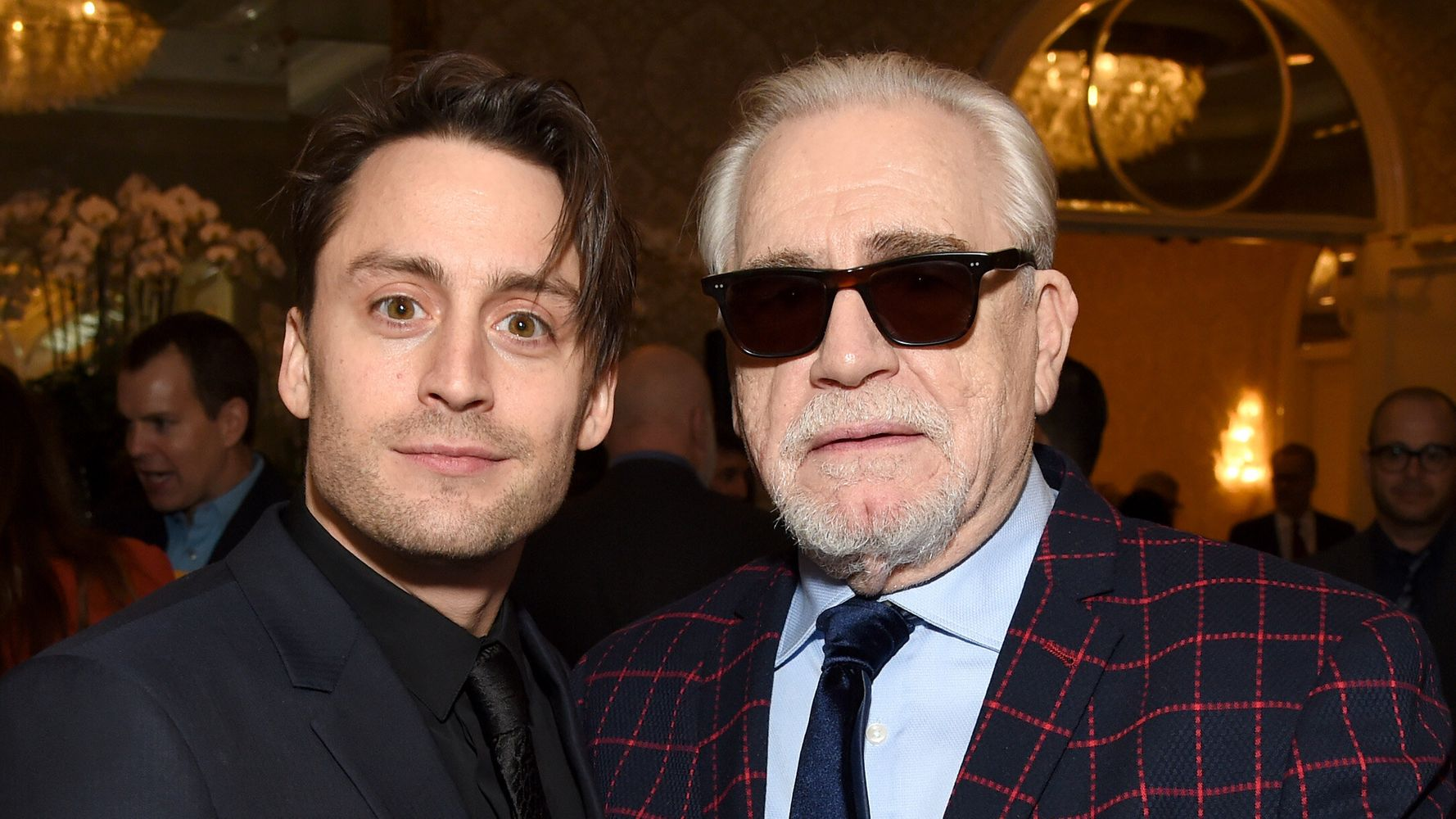 Here's Why Brian Cox Wears Sunglasses To Every Awards Show