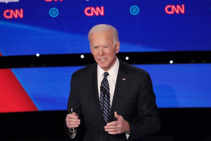 Former Vice President Joe Biden has emphasized his foreign policy experience, including at the Democratic presidential debate