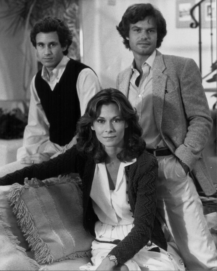"Harry Hamlin (right), Michael Ontkean and Kate Jackson in 1982's ""Making Love."""