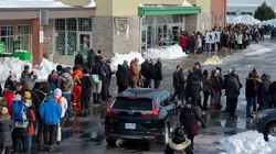 Newfoundlanders Flood Grocery Stores After Monstrous