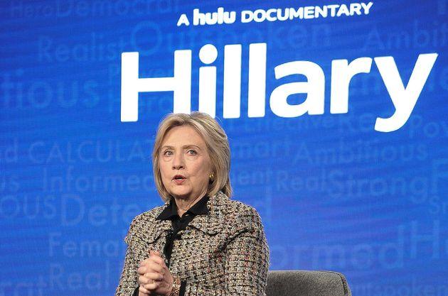 Hillary Clinton le 17 janvier 2020 pendant la promotion de