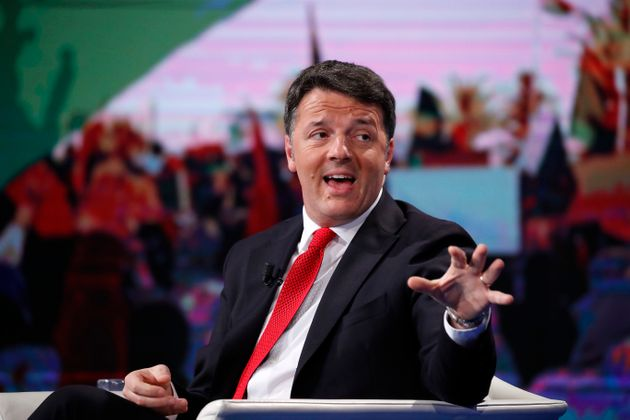 Italian politician Matteo Renzi guest at the Porta a Porta television broadcast. Rome (Italy), January...