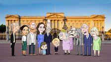 Orlando Bloomレンハリーに新作アニメショーで約ロイヤル家族