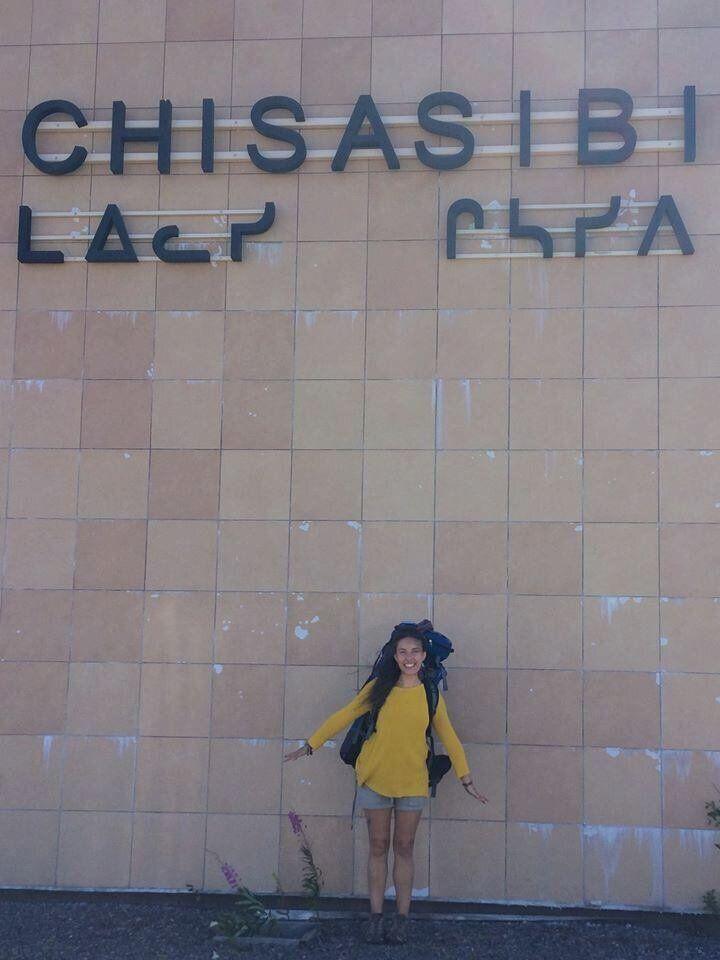 Marie Chamberland à Chisasibi