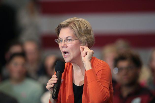 Elizabeth Warren le 12 janvier 2020 dans