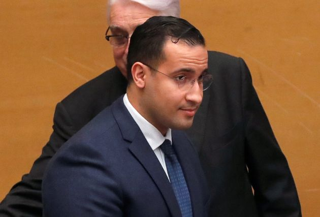 Alexandre Benalla, French President Emmanuel Macron's former senior security officer, arrives to attend...