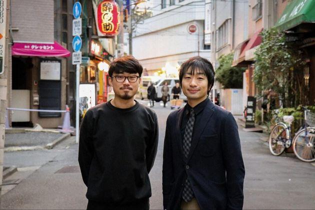 (左から)「ニッポン複雑紀行」編集長・望月優大さん、駒崎弘樹さん