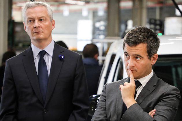 Deux balles de revolver envoyées à Bruno Le Maire et Gérald Darmanin