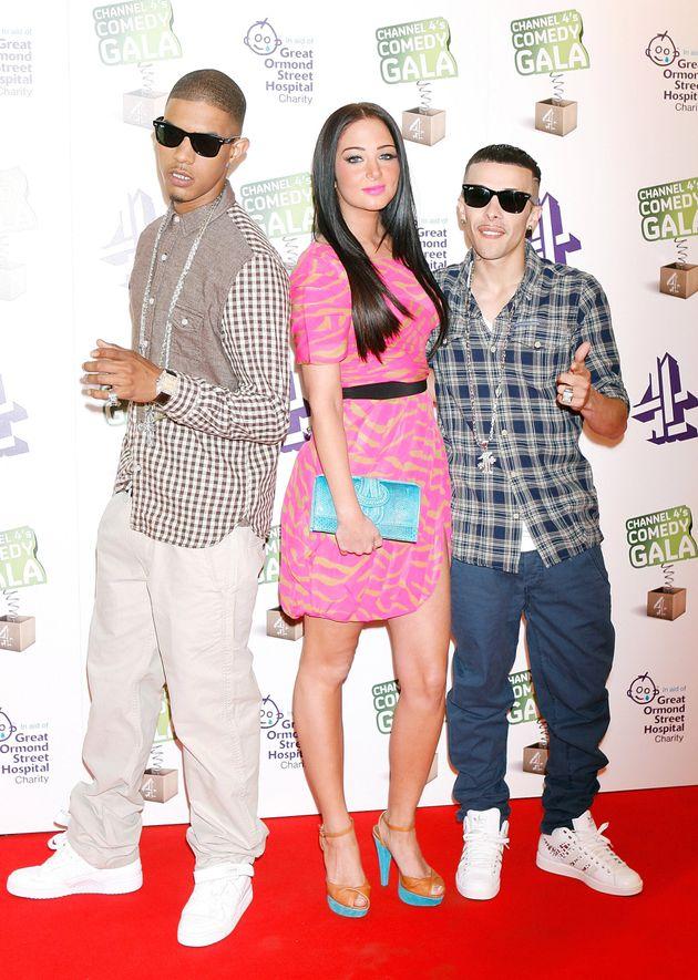 Fazer, Tulisa and Dappy of