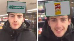 Unos hermanos llevan la locura por el filtro de Mercadona en Instagram