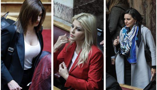 Οι κυρίες της Βουλής στην ιστορική ψηφοφορία για την Πρόεδρο της