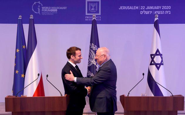 Depuis Jérusalem, Macron juge antisémite la négation de lexistence dIsraël