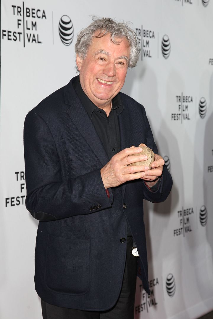 Terry Jones, pictured in 2015