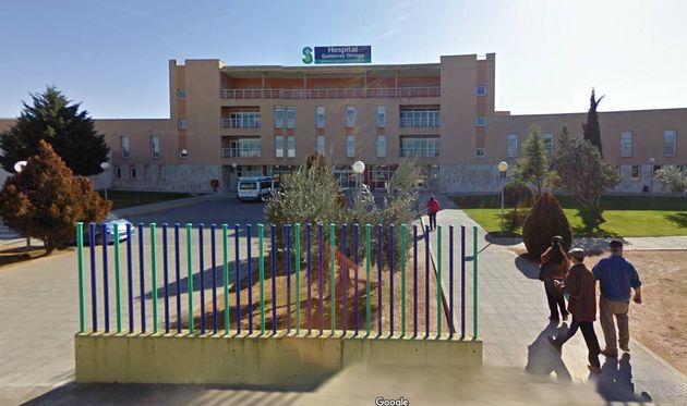 Fachada del Hospital Gutiérrrez Ortega de