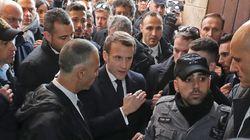 À Jérusalem, Macron fait une Chirac face à la police