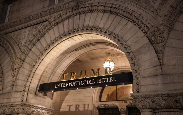 The Trump International Hotel, photographed on March 22, 2019 in Washington, DC. (Photo by Alex Wroblewski/Getty Images)