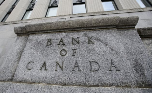 The Bank of Canada is seen here in Ottawa on April 24, 2019. The central bank says global uncertainty...