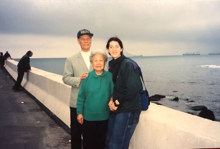 Wiser visited Taiwan for the first time in college, where she spent time with her Asian grandparents and learned about their