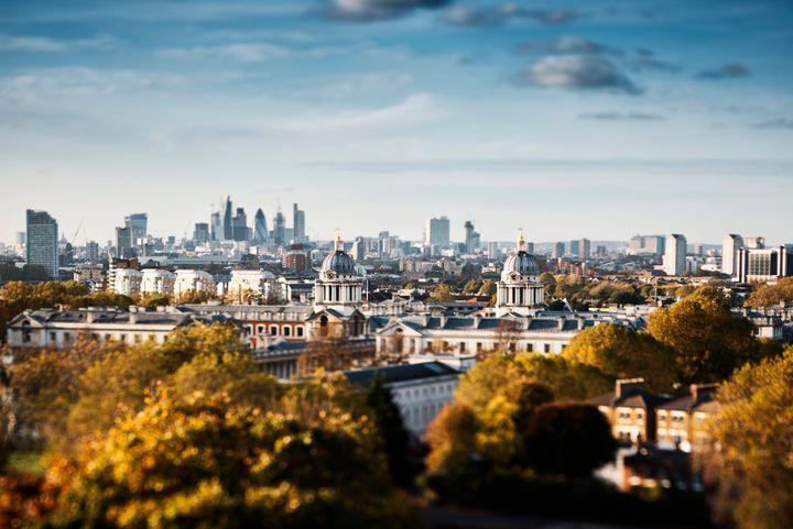 Outside the center of London, visitors can find beautiful parks and stunning views — like in Greenwich, pictured here.