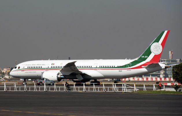 L'avion présidentiel