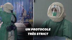 Face au coronavirus, les hôpitaux en Chine prennent des précautions