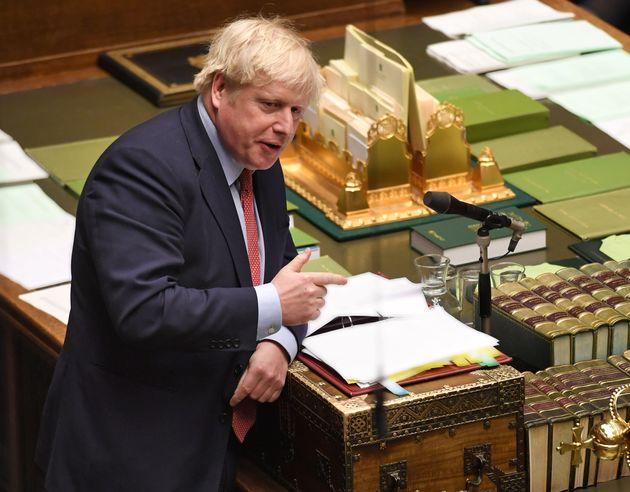 Le texte négocié par Boris Johnson avec Bruxelles doit encore être promulgué...