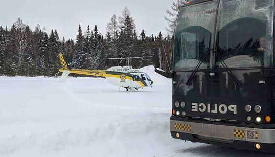 Un hélicoptère de la SQ s'écrase en faisant des recherches au