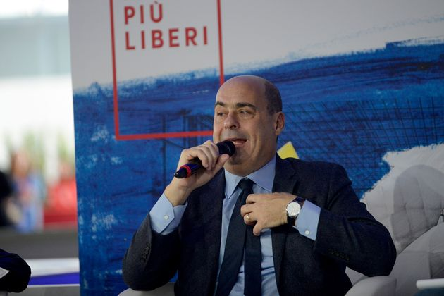 ROME, ITALY - DECEMBER 04:Secretaryof Democratic Party Nicola Zingaretti during the Piu Libri Piu Liberi...