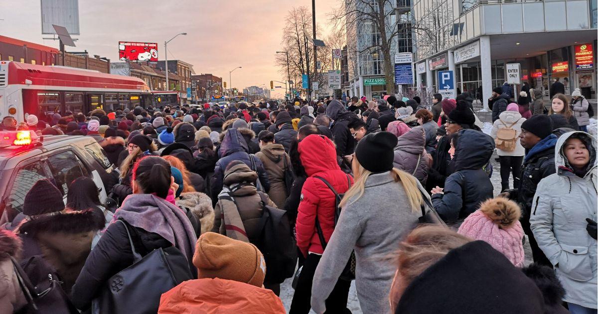 Toronto Transit Chaos Strikes Rush Hour Commuters Across The City