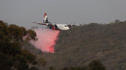 Three US Fire Crew Dead After Air Tanker Crashes Fighting